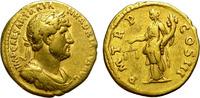 Rome aureus HADRIAN. ATTRACTIVE STRIKE. AEQUITAS