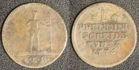 1 Pfennig 1776 Braunschweig-Calenberg-Hannover Georg III. (1760-1820) s +  20,00 EUR  +  10,00 EUR shipping