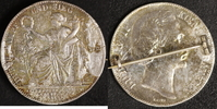 Siegestaler 1871 Bayern Ludwig II. Brosche  35,00 EUR  +  10,00 EUR shipping