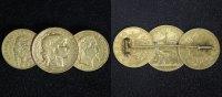 10 & 20 Francs - 10 Lire div. Frankreich/ Italien   broschiert  560,00 EUR  +  10,00 EUR shipping
