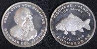 Medaille 1979 Nürnberg 100 Jahre Fischerei-Verein Nürnberg - Otto v. St... 55,00 EUR  +  10,00 EUR shipping