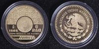 250 Pesos 1986 Mexiko Fußball-WM ´86 PP*  370,00 EUR  +  10,00 EUR shipping