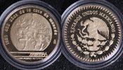250 Pesos 1985 Mexiko Fußball-WM ´86 PP*/l.Prf.  370,00 EUR  +  10,00 EUR shipping