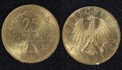 25 Schilling 1927 Österreich  f.vz/Rf.  265,00 EUR  +  10,00 EUR shipping