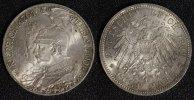 5 Mark 1901 Preußen Wilhelm II. - 200 Jahre Königreich vz+/l.Kr.*  70,00 EUR  +  10,00 EUR shipping