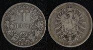 1 Mark 1873 C Kaiserreich  s-ss  85,00 EUR  +  10,00 EUR shipping