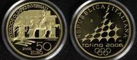 50 Euro 2005 Italien Olympia Turin ´06 - Reiterdenkmal PP*  700,00 EUR  +  10,00 EUR shipping