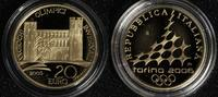 20 Euro 2005 Italien Olympia Turin ´06 - Porte Palatine PP*/l. Bel.  295,00 EUR  +  10,00 EUR shipping
