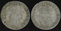 1/2 ECU 1643 A Frankreich Ludwig XIII. - Paris - selten s-ss/Srf.  195,00 EUR  +  10,00 EUR shipping