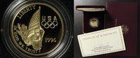 5 Dollar 1996 USA Olympia Atlanta - Fahnenträger PP*/OVP/Zert.  300,00 EUR  +  10,00 EUR shipping