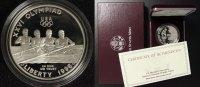 1 Dollar 1996 USA Olympia Atlanta - Rudern PP/l.Pat./OVP/Zert.  60,00 EUR  +  10,00 EUR shipping