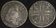 1/4 Ecu 1690 A Frankreich Ludwig XIV. - Paris f.ss/ *Rand bearb.  120,00 EUR  +  10,00 EUR shipping