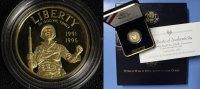 5 Dollar 1995 USA 2. Weltkrieg PP/OVP/Zert.*  425,00 EUR  +  10,00 EUR shipping