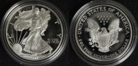 1 Dollar 1999 USA Silver Eagle PP in Kapsel  55,00 EUR