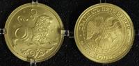 25 Rubel 2005 Russland Löwe - Sternzeichen/ Tierkreiszeichen - Gold matt  325,00 EUR  +  10,00 EUR shipping