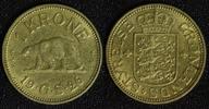 1 Krone 1926 HCN-GJ Grönland - Dänemark Polarbär vz/zap.  65,00 EUR  +  10,00 EUR shipping