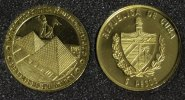 Kuba 5 Pesos 2005 PP* Pyramiden - Serie Die 7 Weltwunder - 1/25 Unze Gold 64,00 EUR 