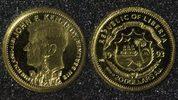 20 Dollars 1993 Liberia Kennedy - Gold PP*  58,00 EUR  +  10,00 EUR shipping