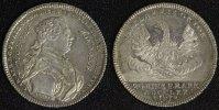 1/2 Konventionstaler 1770 N Hohenlohe-Schillingsfürst Karl Albrecht (17... 1450,00 EUR  +  10,00 EUR shipping