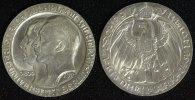 3 Mark 1910 A Preußen Wilhelm II. - Uni Berlin vz-st/ winz.Rf.  75,00 EUR  +  10,00 EUR shipping