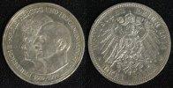 3 Mark 1914 Anhalt Friedrich II. - Silberhochzeit vz/pol.  60,00 EUR  +  10,00 EUR shipping