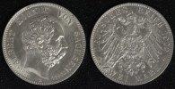 2 Mark 1902 E Sachsen Albert - Auf seinen Tod vz-st/ min.ber./ winz.Rf.  85,00 EUR  +  10,00 EUR shipping