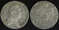 Taler 1787 I.E.C. Sachsen, Albertiner Friedrich August ss/l.just.  125,00 EUR  +  10,00 EUR shipping