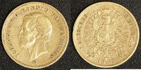 20 Mark 1872 E Sachsen Johann ss/kl.Rf.  450,00 EUR  +  10,00 EUR shipping