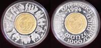 1000 Schilling 1994 Österreich 1000 Sch 800 Jahre Münze Wien PP/OVP/Zer... 654,00 EUR  +  10,00 EUR shipping