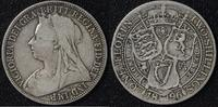 Gro&szlig;britanien 1 Florin / 2 Shillings 1896 ss+ 1 Florin / 2 Shillings Vic... 80,00 EUR 