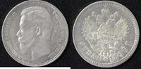 Russland 1 Rubel 1896 ss 1 Rubel Nikolaus II 1896 80,00 EUR 