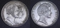 Doppeltaler 1842 Bayern  Ludwig I. - Vermählung Maximilians (seltene Va... 600,00 EUR  +  10,00 EUR shipping