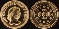 25 Ecu, 1/4 Unze 1989 Belgien  König Baudoin (1951-91)  st   390,00 EUR  +  10,00 EUR shipping