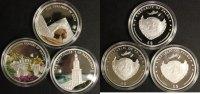 3x 5$ 2009 Palau 3x Farbmünzen PP  140,00 EUR