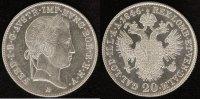 20 Kreuzer 1846 Wien Österreich-Habsburg Ferdinand I. vz-st  35,00 EUR