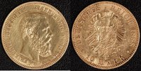 10 Mark 1888 Preußen Friedrich Wilhelm III.(1888) vz  225,00 EUR