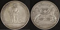 5 Franken 1859 Schweiz Schützenfest Zürich ss+, Rf  200,00 EUR