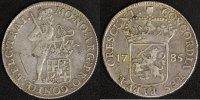 Silberdukat 1785 Niederlande Utrecht ss  110,00 EUR