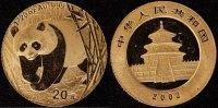 20 Yuan 2002 China 20 Yuan Panda   150,00 EUR  +  10,00 EUR shipping