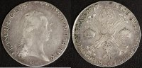 1/2 Kronentaler 1797 C Österreich Franz II. - Prag ss  45,00 EUR