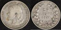 25 Cents 1894 Niederlande  f.ss  45,00 EUR