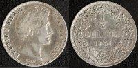 1/2 Gulden 1838 Bayern Ludwig I.  s-ss  35,00 EUR  +  10,00 EUR shipping