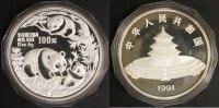 100 Yuan 1991 China Panda st  850,00 EUR  +  10,00 EUR shipping