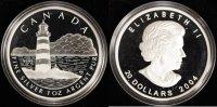 20 Dollar 2004 Canada Sambro Island PP/Zert./OVP  50,00 EUR  +  10,00 EUR shipping