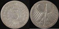 5 Mark 1958 J BRD Kursmünze ss, min.Rf.  390,00 EUR