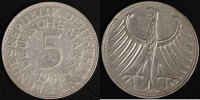 5 Mark 1958 J BRD Kursmünze ss, min.Rf.  390,00 EUR  +  10,00 EUR shipping