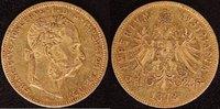 8 Florin 1878 Österreich  ss  290,00 EUR