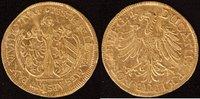 Dukat 1635 Nürnberg Friedenswunsch wellig, Kr.sonst vz  950,00 EUR