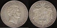 Vereins-Doppel-Taler  1845 Braunschweig  Wilhelm  Rf., ss+  320,00 EUR