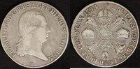 Kronentaler 1794 M Österreich Franz II. - Milano ss, min.just.  75,00 EUR